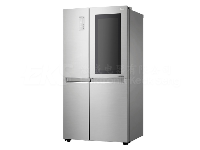 LG GC-Q247CSBV 687L Noble Steel Side-by-Side Refrigerators with Inverter Linear Compressor & InstaView Door-in-Door®
