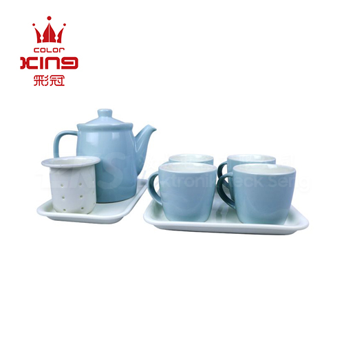 Color King Lily Series Set Of 8 (Blue)
