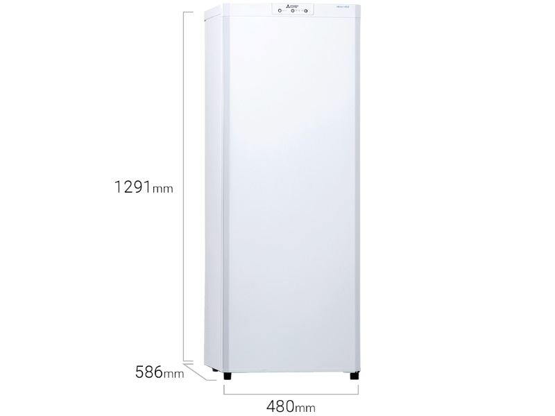 Mitsubishi Upright Freezer 160L - MF-U16J